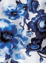 Silk Paisley & Floral Neckerchief, Blue, hi-res