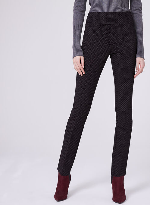 Insight - Pull-On Straight Leg Pants, Red, hi-res