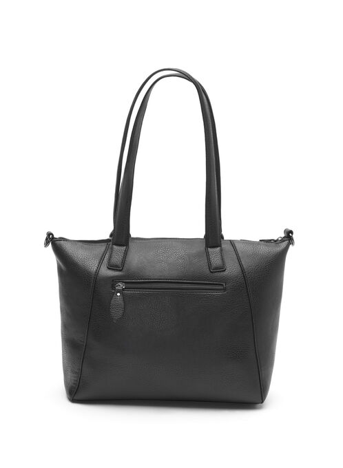 Chain Insert Tote Bag, Black, hi-res