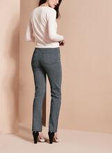 Striped Straight Leg Pants, Blue, hi-res