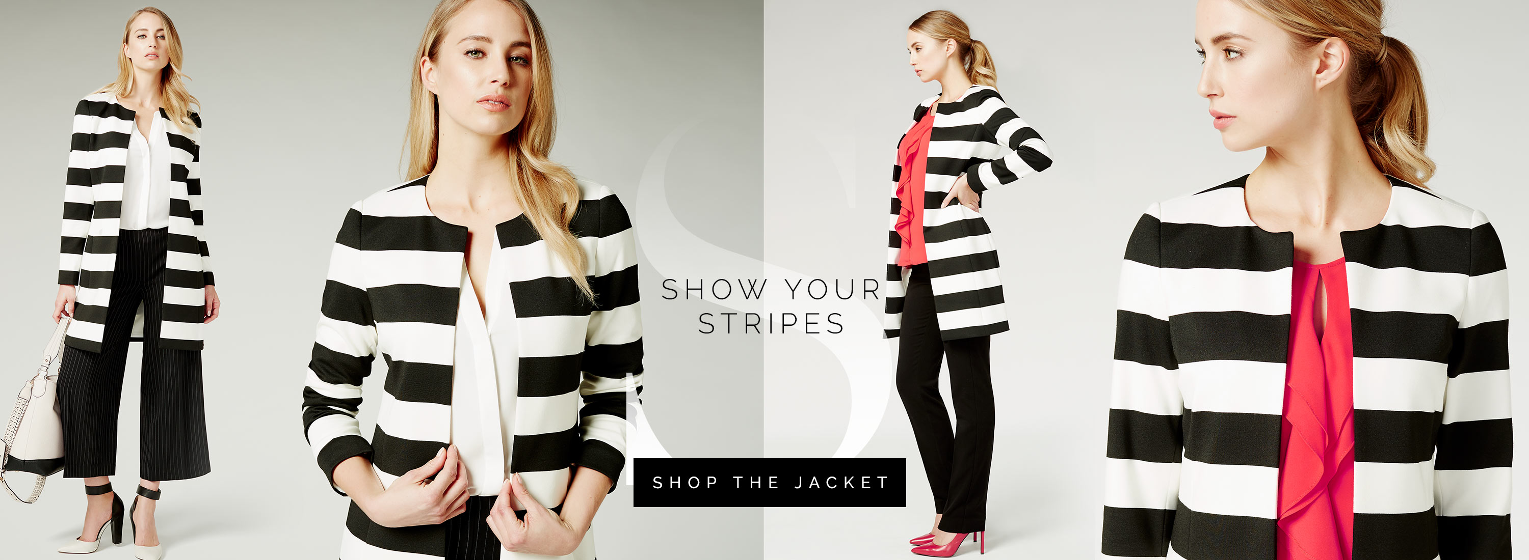 Show your stripes - SHOP THE JACKET
