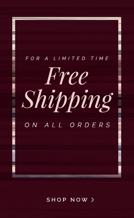 Get Free Shipping on all orders