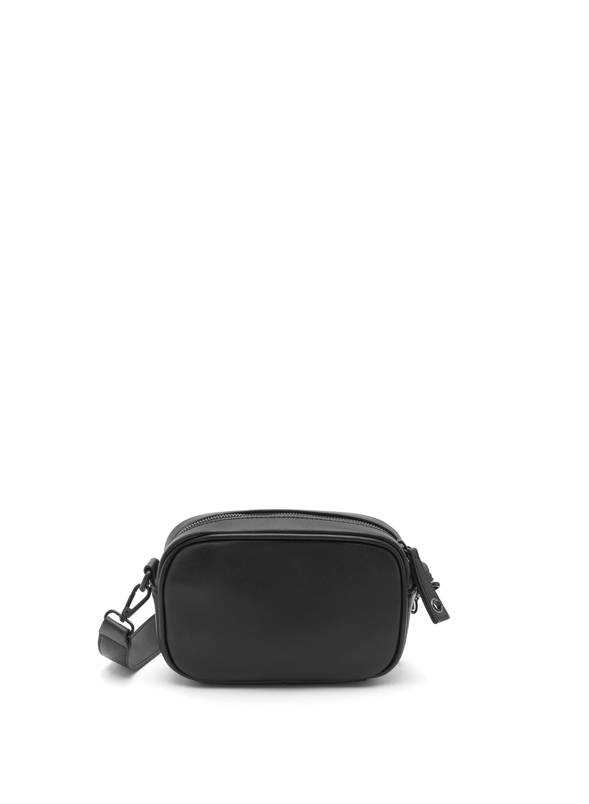 Eyelet Embellished Crossbody Handbag, Black, hi-res