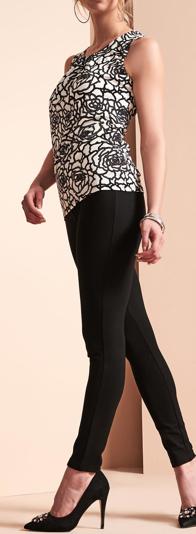 Slim Leg Ponte Leggings