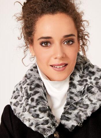 Novelti - Leopard Print Faux-Fur Coat, , hi-res