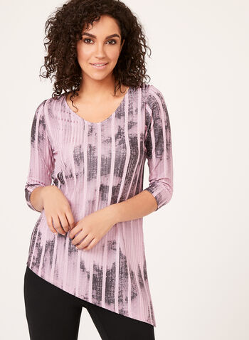 Abstract Print Asymmetric Top , , hi-res