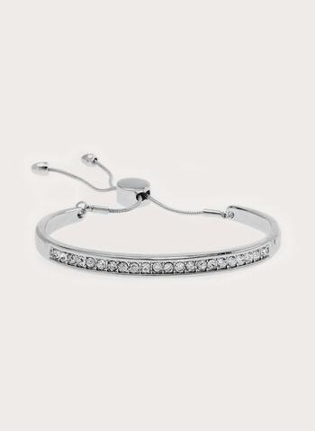 Crystal Encrusted Cuff Bracelet , , hi-res