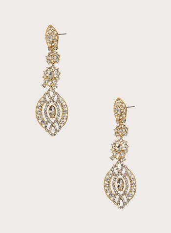 Crystal Chandelier Earrings, , hi-res