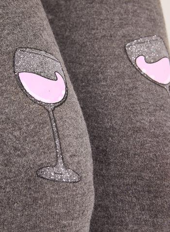 Pillow Talk- Jersey Knit Pajama Set , , hi-res