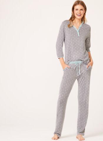 René Rofé - Floral Print Pajama Set , , hi-res