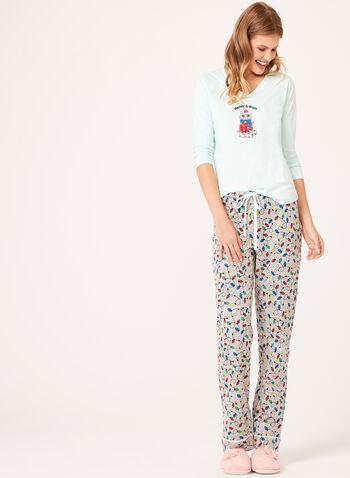 Pillow Talk - Cotton Jersey Pajama Set , , hi-res