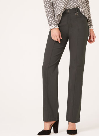 Simon Chang - Straight Leg Microtwill Pants, , hi-res