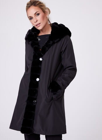 Nuage - Faux Fur Reversible Coat, , hi-res