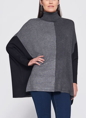 Dolman Sleeve Colour Block Sweater, , hi-res