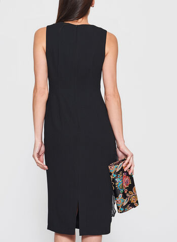 Maggy London - Chiffon Ruffle Trim Dress, , hi-res