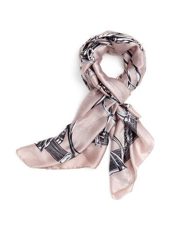 Harness Print Scarf, , hi-res