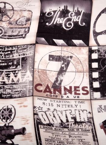 Movie Inspired Print Scarf, , hi-res