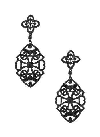 Filigree Chandelier Earrings, , hi-res
