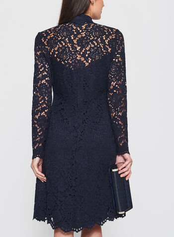 Maggy London - Cotton Lace Button Down Dress, , hi-res
