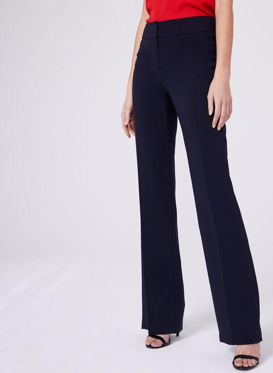 Louben - Straight Leg Pants, Blue, hi-res
