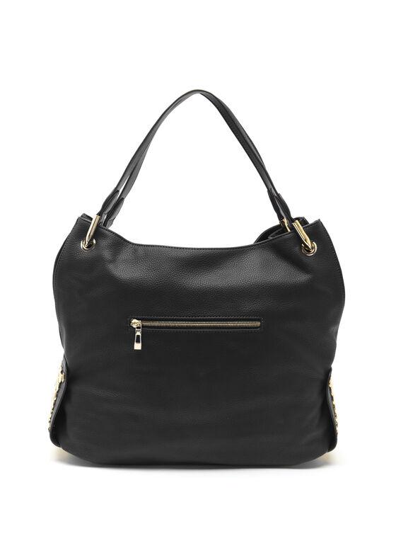 CÉLINE DION - Symphony Hobo Bag, Black, hi-res