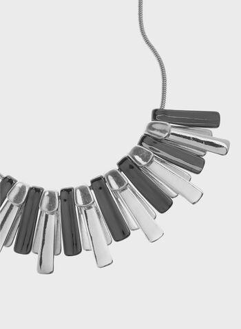 Robert Lee Morris - Two Tone Bar Bib Necklace, , hi-res