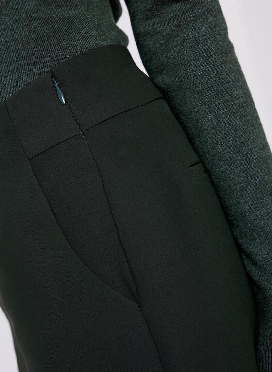 Soho Slimming Fit Wide Leg Pants, Green, hi-res