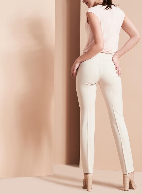 Bi-Stretch Slim Leg Pants , Grey, hi-res