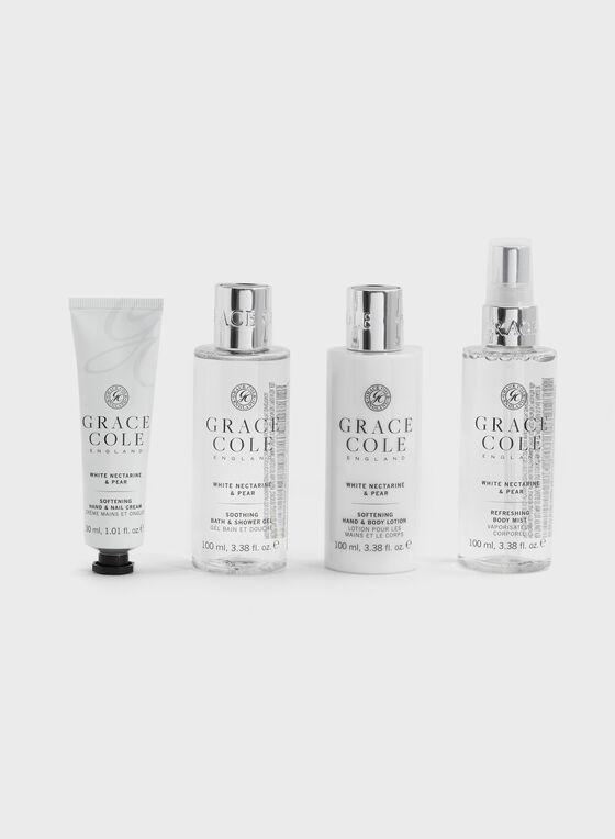 Grace Cole - Body Care Travel Set, Black, hi-res
