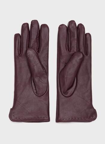 Leather Gloves, , hi-res