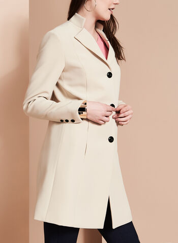 Nuage - Coachman Collar Bankers Coat, , hi-res