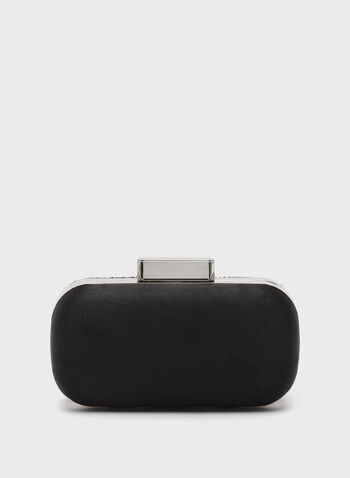 Hexagon Velvet Clutch , , hi-res