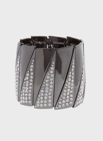 Crystal Stretch Bracelet , , hi-res
