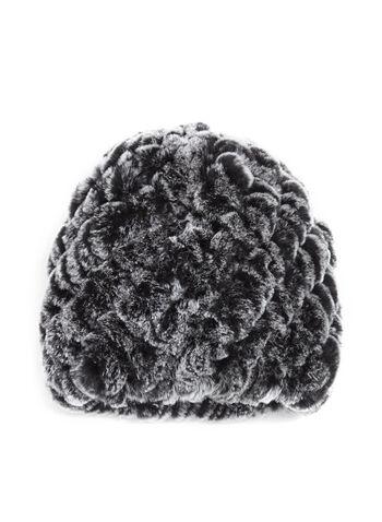 Rabbit Fur Hat, , hi-res