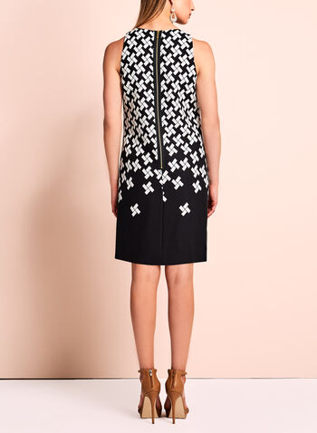 T Tahari - Sleeveless Geometric Print Dress, , hi-res