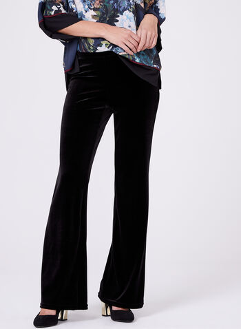Conrad C - Pull-On Wide Leg Pants, , hi-res