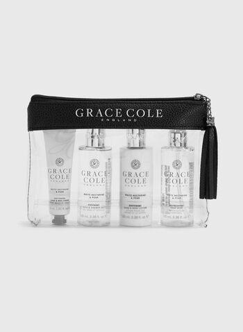 Grace Cole - Coffret voyage pour le corps Nectarine blanche & Poire, , hi-res