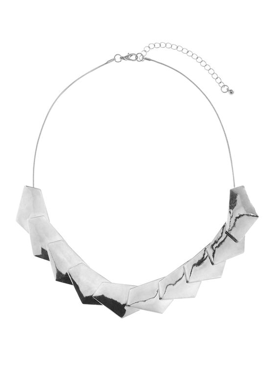 Snake Chain Necklace , Silver, hi-res