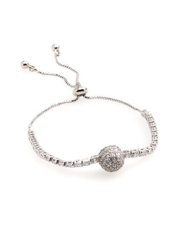 Adjustable Crystal Bracelet, , hi-res