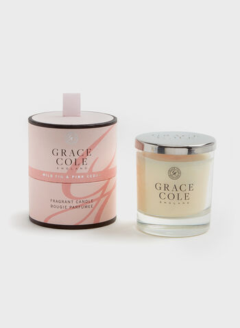 Grace Cole - Wild Fig & Pink Cedar Candle , , hi-res