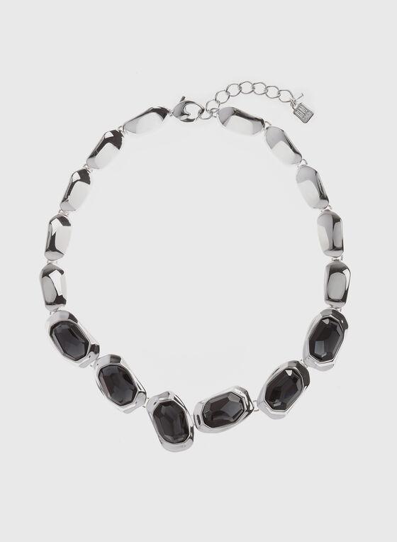 Robert Lee Morris - Long Stone Pendant Necklace, Grey, hi-res
