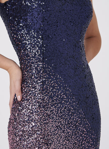 Cachet - Ombré Sequin Dress, , hi-res