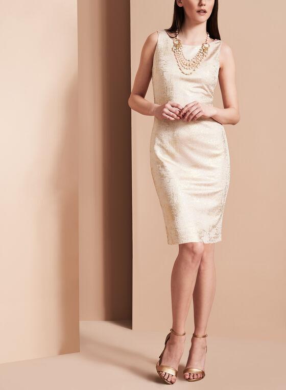 Lyman by Frank Lyman Sparkle Sheath Dress, Pink, hi-res