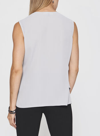 Sleeveless Triple Layer Blouse, , hi-res