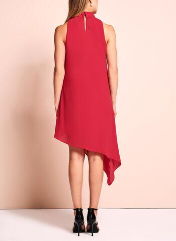 Maggy London - Asymmetric Choker Dress, , hi-res