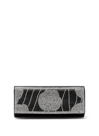 Crystal Encrusted Clutch, , hi-res