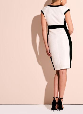 Jax Contrast Zipper Trim Dress, , hi-res