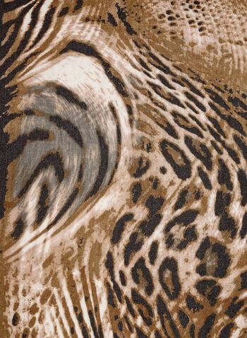 Animal Print Scarf, , hi-res