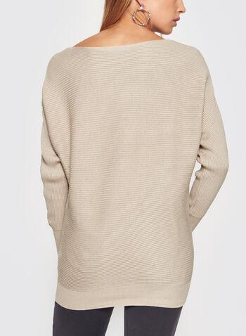 Pull en tricot à manches Dolman, , hi-res