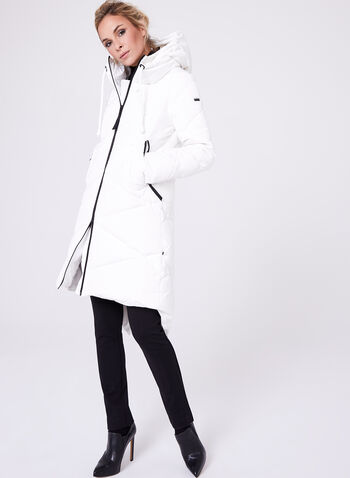 Novelti - Quilted Down Filled Coat, , hi-res